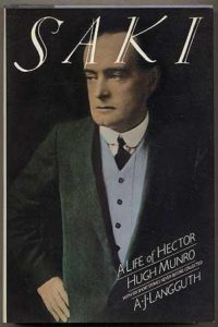 Cover of A. J. Langguth's Saki biography