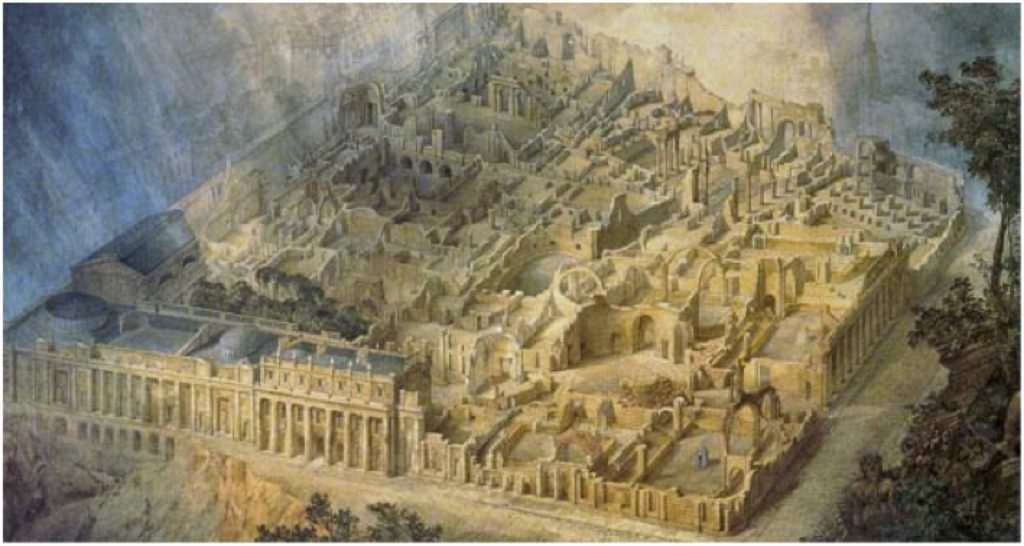Joseph Gandy's 'Soane's Bank of England as a ruin' (1830)