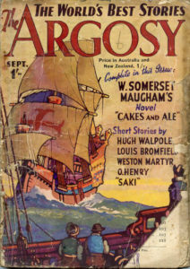 Cover of The Argosy magazine 1937 edition